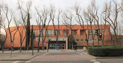 Fachada de la Junta Municipal del distrito.