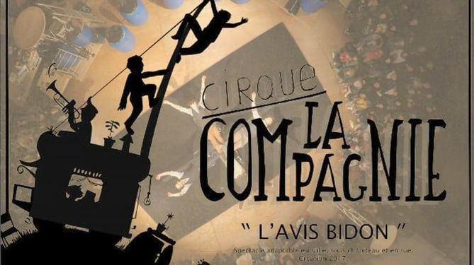 Cartel oficial de la función de Cirque La Compagnie.