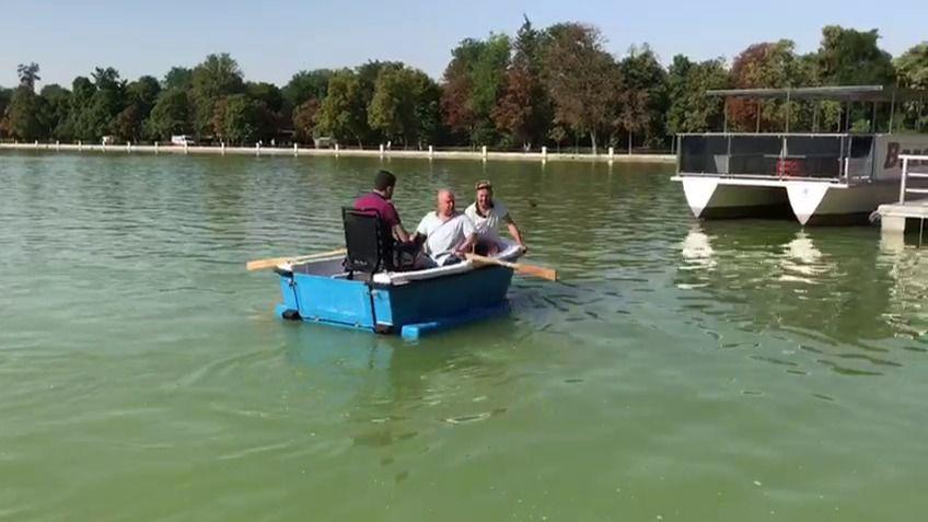 Barcas para todos en el Retiro