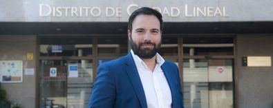 Ángel Niño, concejal presidente de Ciudad Lineal, de Ciudadanos.