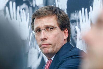 Imagen de archivo del alcalde, José Luis Martínez Almeida.