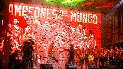 Así fue la fiesta de los campeones del mundo