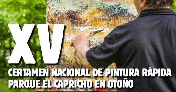 Convocado el Certamen Nacional de Pintura Rápida El Capricho