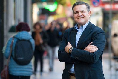 Jorge Rodrigo, nuevo secretario primero de la Mesa de la Asamblea de Madrid.