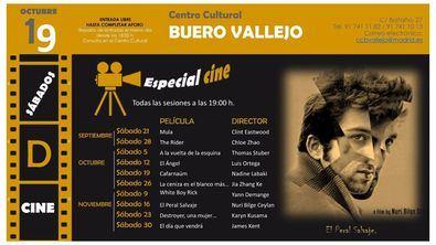 Otoño de cine gratis en San Blas