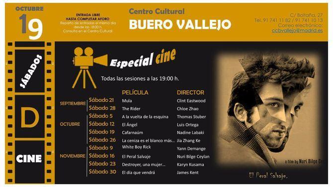 Sábados de cine, este otoño en San Blas