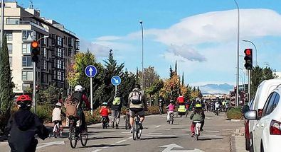 Sanchinarro, por la bicicleta