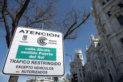 Fallos en las multas de Madrid Central