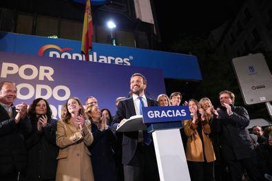 El PP arrebata Tetuán al PSOE y es la fuerza más votada en los tres distritos del norte.