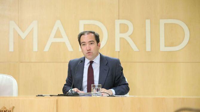 Borja Carabante ha anunciado la hoja de ruta para las obras del Nudo Norte: comenzarán el verano que viene.