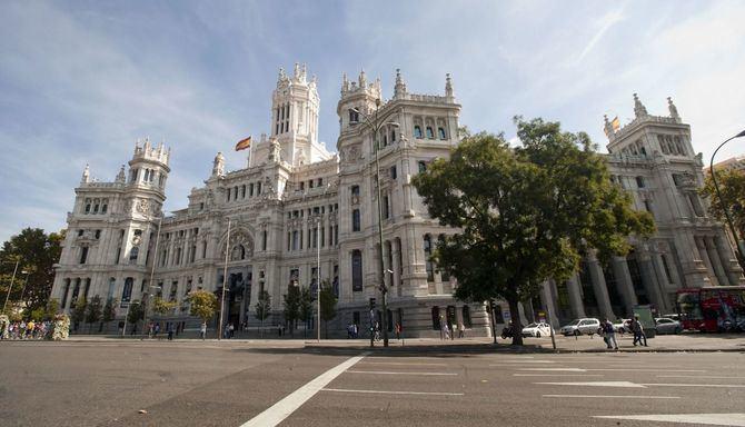 El centro cultural CentroCentro se encuentra situado en el interior del Palacio de Cibeles.