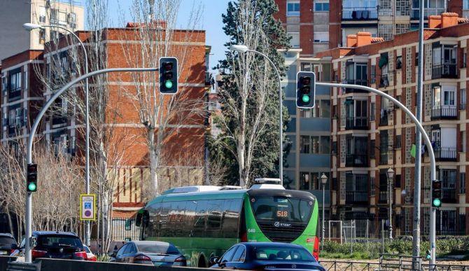 Un juzgado ha admitido el recurso contra el apagón de los semáforos de la A5.