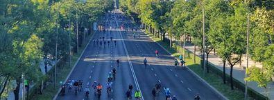 Castellana, 2023: un carril bici segregado y seguro