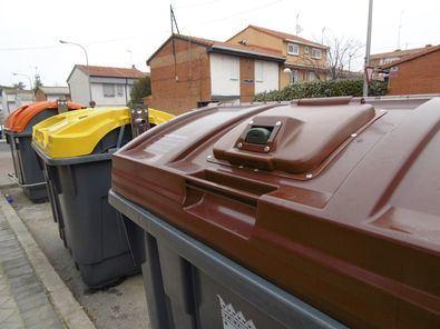 Salamanca, Chamartín y Barajas estrenan el cubo marrón
