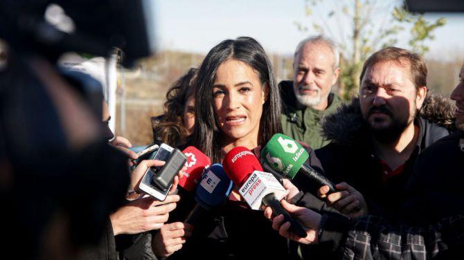 Imagen de la vicealcaldesa Begoña Villacís en una reciente visita a Valdebebas.