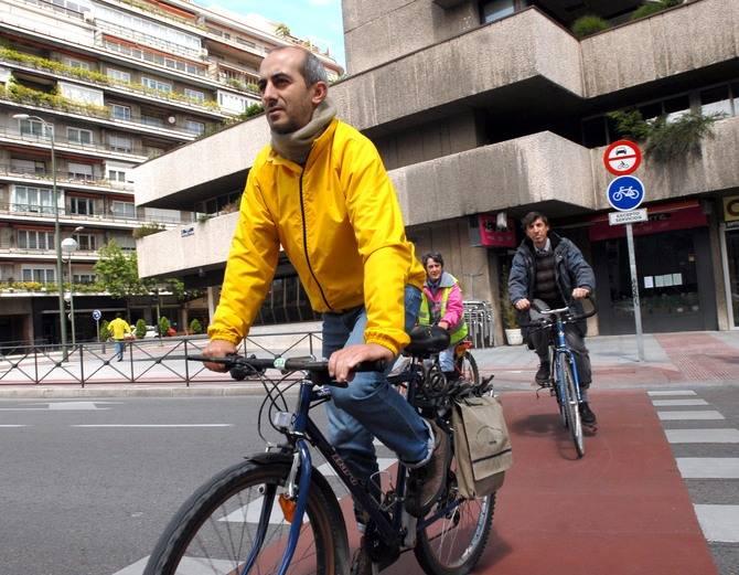 Carriles para bicicletas ha sido una de las propuestas que más se han repetido en todos los distritos.