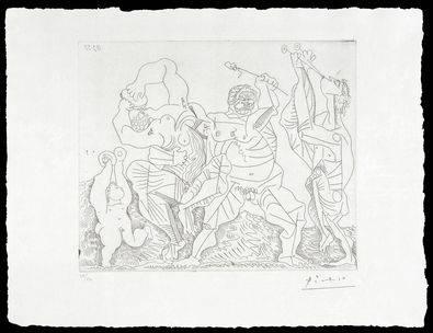 Una selección de la obra gráfica de Picasso, en el Museo Picasso-Colección
