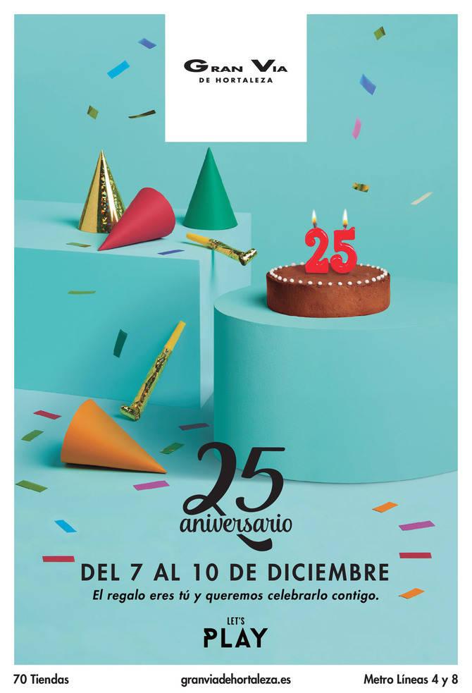 Gran Vía de Hortaleza celebra sus 25 años