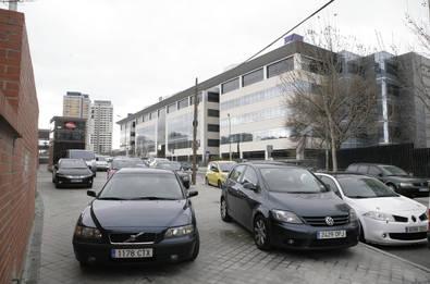 Tres aparcamientos para disuadir de entrar con el coche en el centro