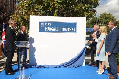 Margaret Thatcher se queda sin su plaza en Madrid