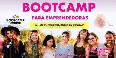 Mujeres emprendiendo en digital