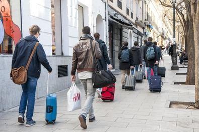 Coto a las viviendas turísticas en Goya y Recoletos
