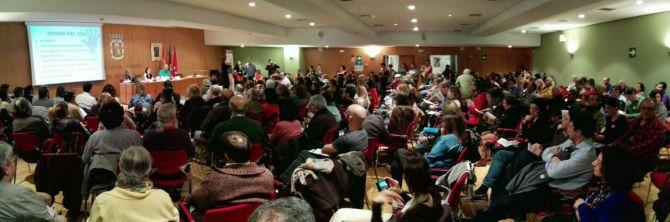 Éxito rotundo de participación en la constitución del Foro Local del distrito de Salamanca.