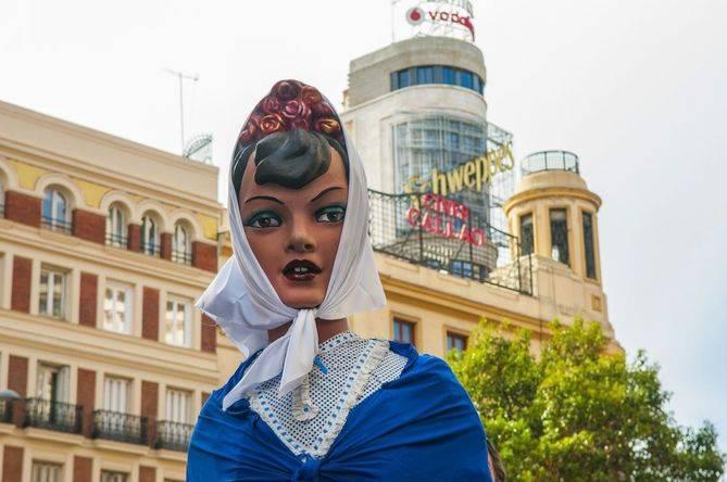 Celebración de las fiestas de San Isidro en Madrid.