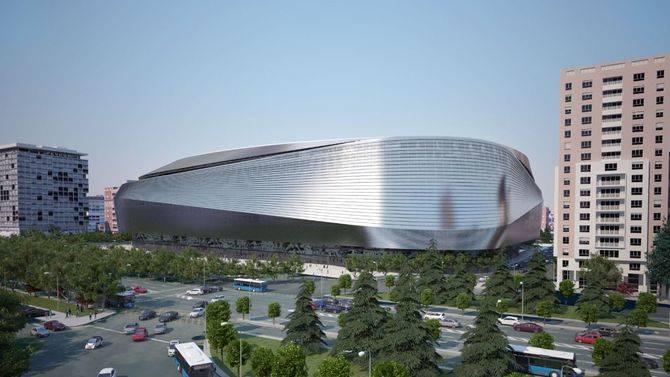 Una de las recreaciones del nuevo estadio Santiago Bernabéu.