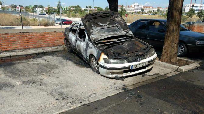 Ciudadanos llevará a Pleno los incendios de coches que se están dando en el distrito.