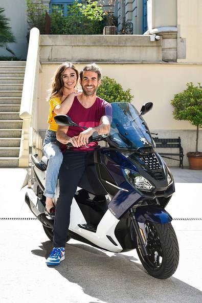 Esta 'scooter' de última generación es la primera de la gama en equipar la tecnología exclusiva 'i-Connect'.