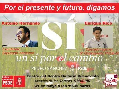 Cita socialista con la precamapaña electoral, en el Buenavista