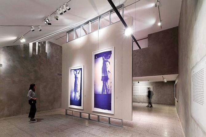 Fundación Canal Exposición Francesca Woodman.