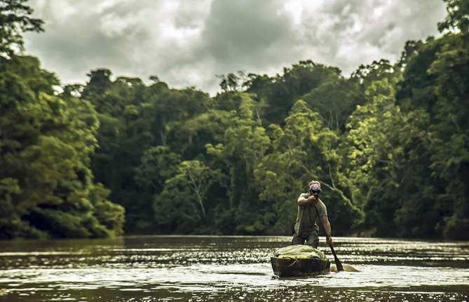 Tres mil kilómetros, cuatro meses de aventura y de peligros, en pleno pulmón verde del planeta.