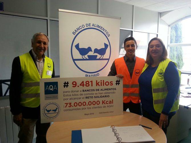 9.481 kilos de comida solidaria
