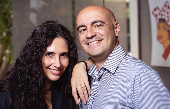 Ernesto Lotitto y Maryem Sáder son los responsables de la organización de este festival gastronómico.