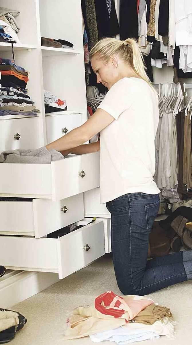 9 pasos para convertir un armario en sostenible