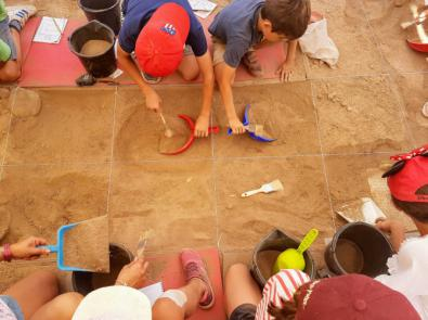 Aprendiendo a ser arqueólogos