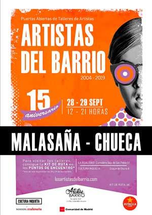 'Los Artistas de Barrio', abriendo los talleres de los artistas madrileños al público