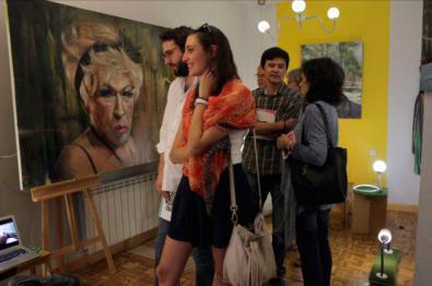 'Los Artistas de Barrio', de puertas abiertas