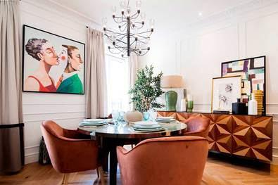 Operaciones inmobiliarias que incluyen obras de arte