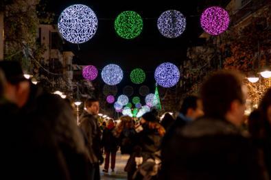 La Navidad en Majadahonda arranca con el encendido de luces y la inauguración del Belén