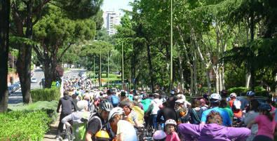 BiciLineal ya demandaba el carril por Arturo Soria.