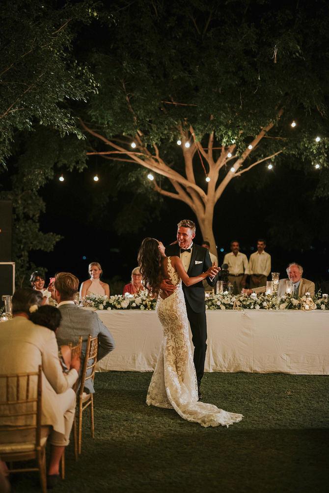 Pronovias viste a Diipa Khosla en el día de su boda