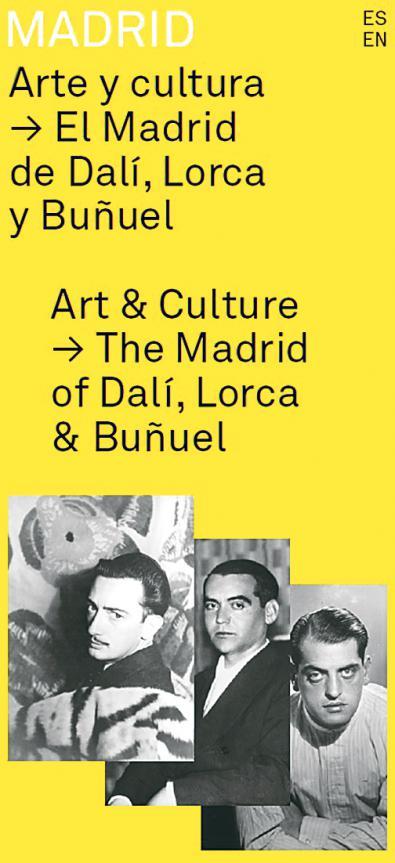 El Madrid de Lorca, Dalí y Buñuel