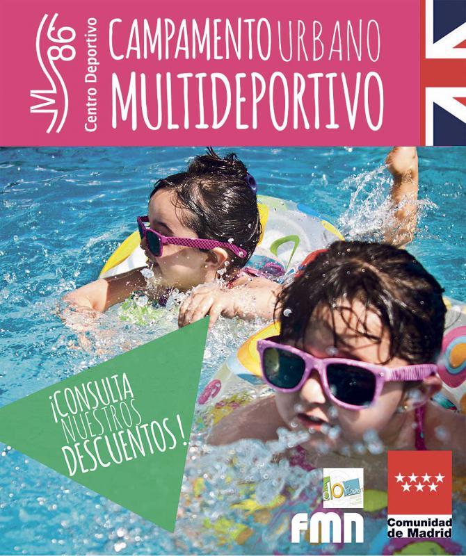 Planes para tus hijos, este verano, con Centro Deportivo M86