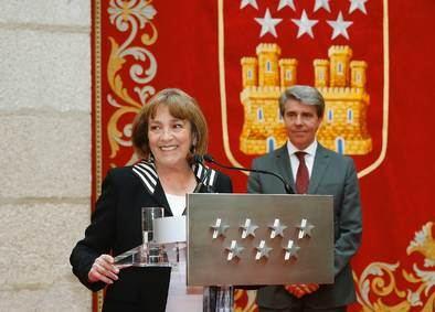 Carmen Maura recibe la Medalla Internacional de las Artes 2018