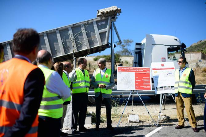 La Comunidad de Madrid mejorará el firme de más de 165 kilómetros de carreteras de la región hasta 2021