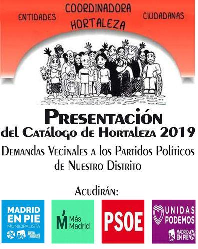 Cambiar Hortaleza presenta sus conclusiones el 17 de mayo