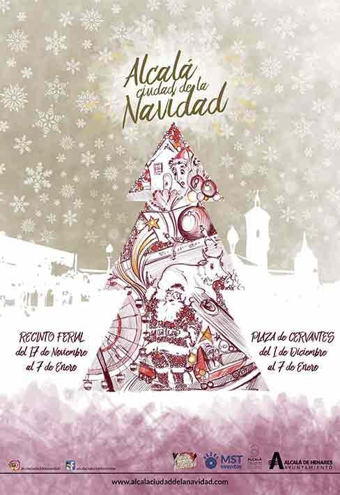 Alcalá de Henares, referencia navideña en Madrid'